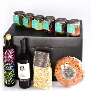 Geschenkkorb mit Ligurische Produkte