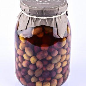 Taggiasca Oliven in Salzlake